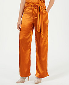Heartloom High-Waist Wide-Leg Pants
