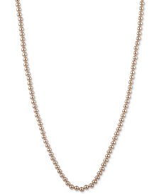 "Lauren Ralph Lauren Imitation Pearl 42"" Strand Necklace"
