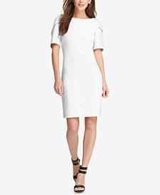 DKNY Puff-Sleeve Sheath Dress, Created for Macy's