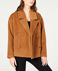 Eileen Fisher Notched-Collar Short Jacket, Regular & Petite
