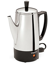 2 to 6-Cup Stainless Steel Percolator