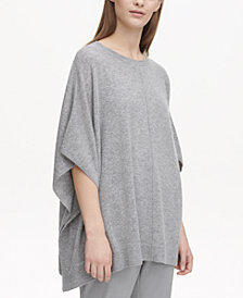 Calvin Klein Cashmere Pull-On Cape