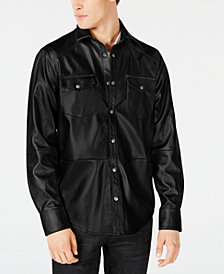 I.N.C. Men's Rayon Shirt Jacket, Created for Macy's