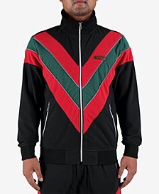 Hudson NYC Men's Colorblocked Track Jacket