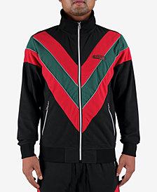 Hudson NYC Men's Colorblocked Track Jacket
