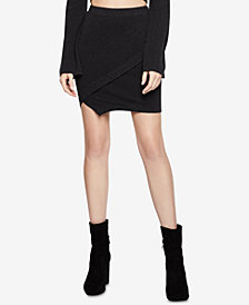 BCBGeneration Mini Wrap Skirt