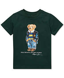 Polo Ralph Lauren Toddler Boys Polo Bear Cotton T-Shirt
