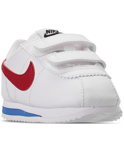 hot sale online 87136 c1333 ... Nike Toddler Boys  Cortez Basic SL Casual Sneakers from Finish ...