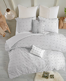 Urban Habitat Brooklyn 5-Pc. Twin/Twin XL Cotton Jacquard Duvet Cover Set
