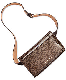 MICHAEL Michael Kors Shiny Logo Belt Bag