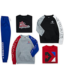 Converse Big Boys Joggers, Graphic T-Shirts & Sweatshirts