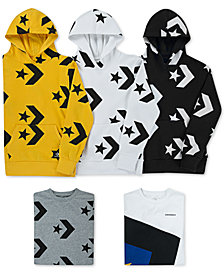 Converse Big Boys Hoodies & T-Shirts