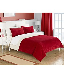 Chic Home Evie 2-Pc Twin XL Sherpa Blanket