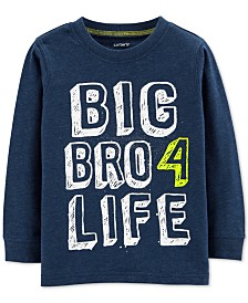 Carte's Toddler Boys Big Bro Graphic T-Shirt