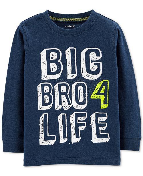 Carter's Carte's Toddler Boys Big Bro Graphic T-Shirt