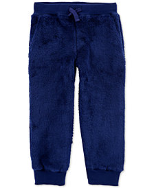 Carter's Toddler Boys Fuzzy Jogger Pants