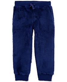 Carter's Toddler Boys Fuzzy Jogger Pants