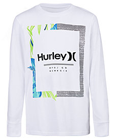 Hurley Big Boys Bloom Graphic Cotton T-Shirt