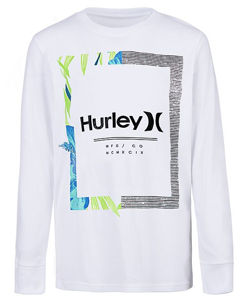 8d9978c0b Hurley Toddler Boys Bloom Graphic Cotton T-Shirt & Reviews - Shirts ...