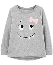 Carter's Toddler Girls Monster Graphic Top