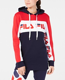 Fila Colorblocked Relaxed Hoodie