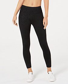 Calvin Klein Performance Embossed Ankle Leggings
