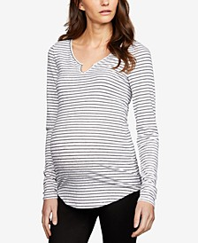 Maternity Ruched Top