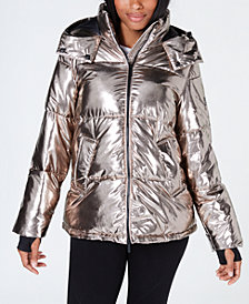 Calvin Klein Performance Metallic Quilted Jacket