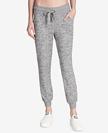 DKNY Sport Spa Melangé Joggers, Created for Macy's