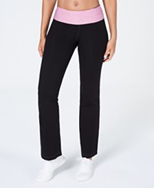 Ideology Performance Yoga Pants, Created for Macy's