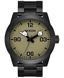 Nixon Men's Corporal Mickey Stainless Steel Bracelet Watch 48mm A346