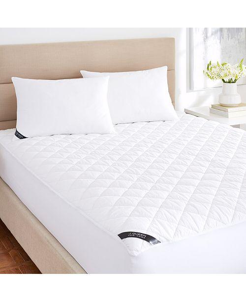 J Queen New York Regal 233 Thread Count Cotton Top Allergen Barrier Waterproof Mattress Pad Collection