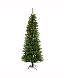 Vickerman 8.5 ft Salem Pencil Pine Artificial Christmas Tree With 450 Clear Lights