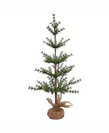 3 ft Split Venetian Pine Artificial Christmas Tree Unlit