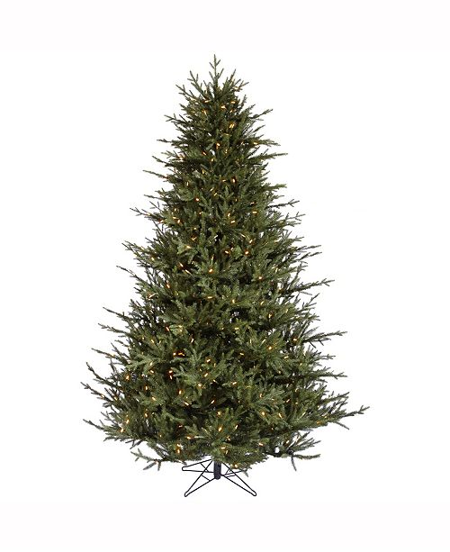 Vickerman 7.5 ft Itasca Frasier Artificial Christmas Tree With 750 Warm White Led Lights