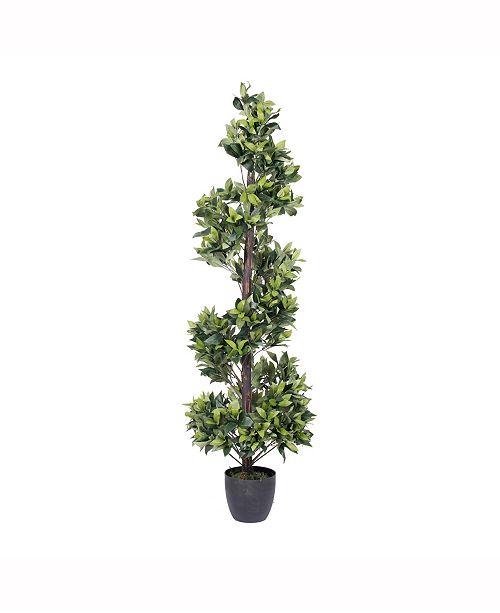 Vickerman 5' Artificial Spiral Bay Tree