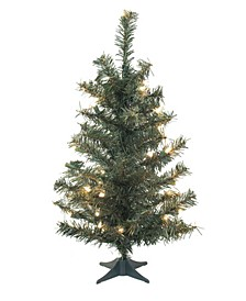30 inch Canadian Pine Artificial Christmas Tree
