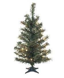 Vickerman 30 inch Canadian Pine Artificial Christmas Tree