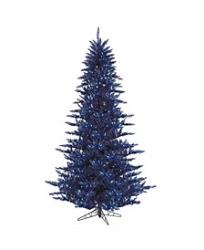 3' Navy Blue Fir Artificial Christmas Tree