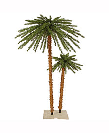 Vickerman 4' - 6' Outdoor Palm Artificial Christmas Artificial Tree