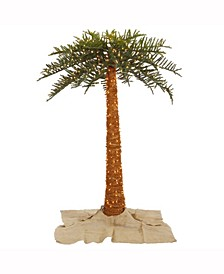 6' Outdoor Royal Palm Artificial Tree