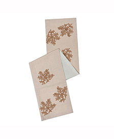 Vickerman Decorative Table Runner Featuring