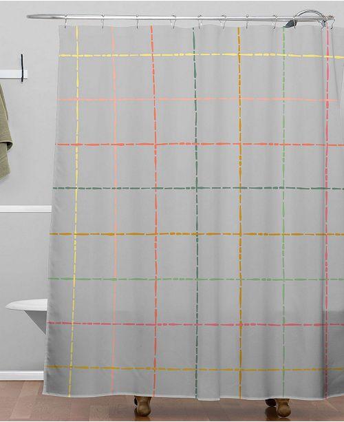 Iveta Abolina Roux Cream Shower Curtain