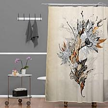 Iveta Abolina Forbbiden Thoughts Shower Curtain