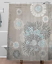 Deny Designs Iveta Abolina Little Dandelion Shower Curtain