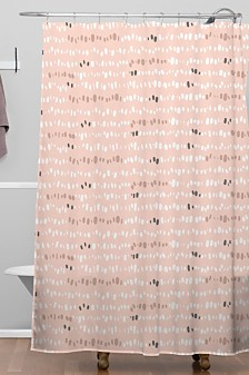 Deny Designs Iveta Abolina Pink Salt Shower Curtain