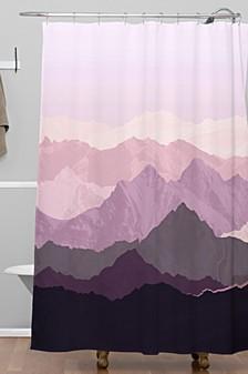 Iveta Abolina Sugar Plum Shower Curtain