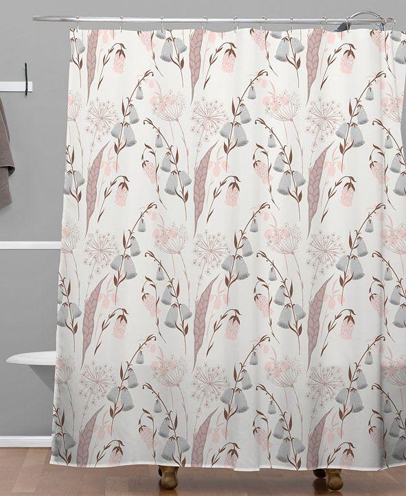 Deny Designs Iveta Abolina Charlotte Fields I Shower Curtain