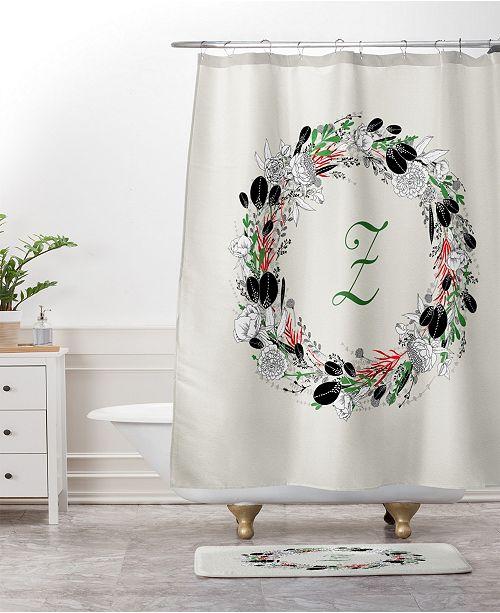 Deny Designs Iveta Abolina Rose Winterland Bath Mat