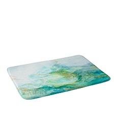 Iveta Abolina Crystalline Water Navy Bath Mat